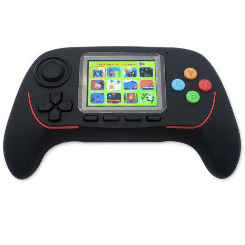 2.5 inch TFT Display Handheld Video Game Console Children's Toys 16 Bit Handle Game Player - BLACK