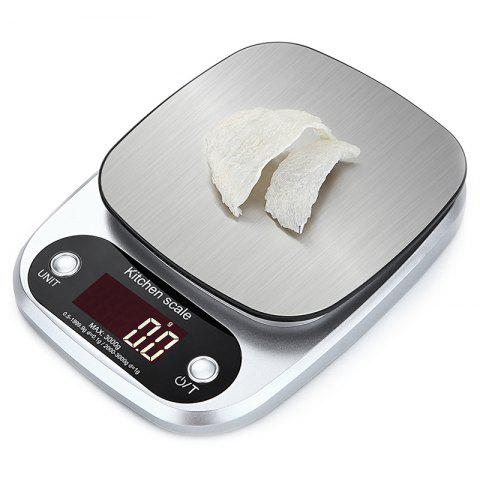 Electronic Scale Home Baking Weighter - SILVER 3KG/0.1G