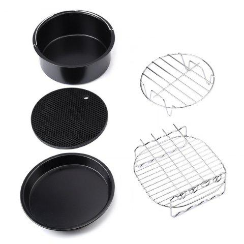 Air Fryer Accessory for Home 5pcs - BLACK