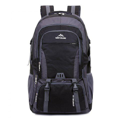 High Capacity Wear Resistance Backpack - BLACK