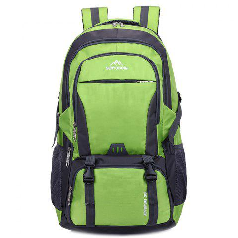 High Capacity Wear Resistance Backpack - CLOVER GREEN