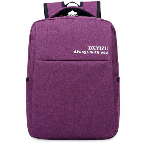 DIXINGYIZU Leisure Business Traveling Backpack - DARK ORCHID