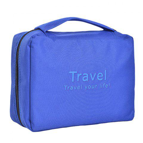 Leisure Traveling Cosmetic Bags - COBALT BLUE