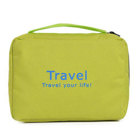Leisure Traveling Cosmetic Bags - CLOVER GREEN