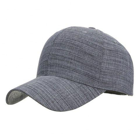 Fashion Breathable Classic Stripe Baseball Cap for Men - WISTERIA PURPLE