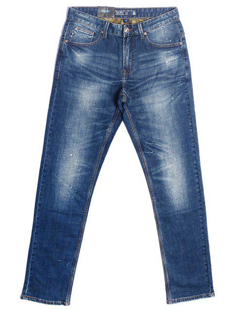 A LA MASTER Cool Straight Jean for Men - OCEAN BLUE 33