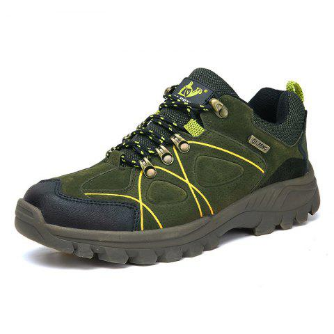 Fashionable Ventilate Outdoor Sports Shoes - DEEP GREEN EU 44
