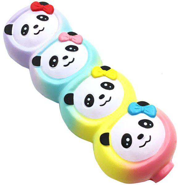 Panda Style Decompression Toys Squishy Slow Rising Plaything - multicolor