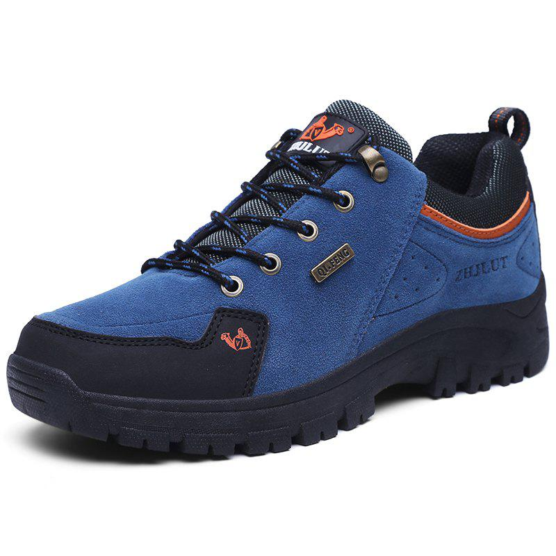 Outdoor Fashion Shock-absorbing Sneakers for Men - BLUEBERRY BLUE EU 46