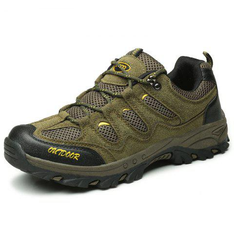 Outdoor Hiking Sneakers Running Sports Shoes - ARMY GREEN EU 44