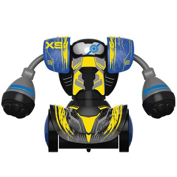 Boxing Fight Double Play Robot Children Intelligent Remote Control Toy - YELLOW