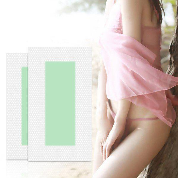 Professional Hair Removal Double-sided Cold Wax Strip Paper for Leg Body Face 12pcs 282859801