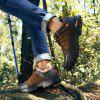 Men Lace Up Outdoor Mountaineering Hiking Shoes - BROWN EU 41