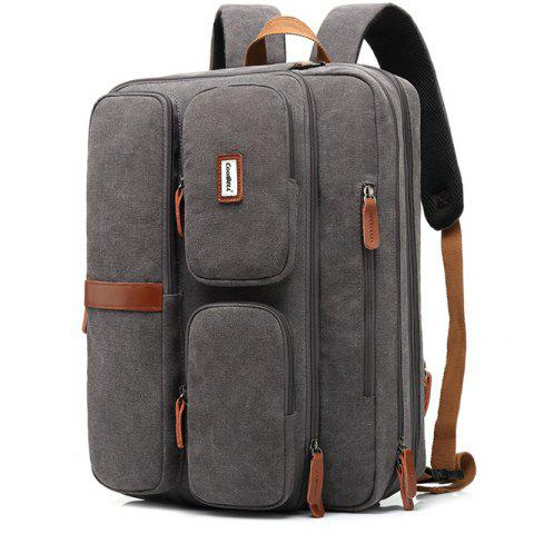 coolbell 5601 Casual Polyester Men's Crossbody Bag - BATTLESHIP GRAY