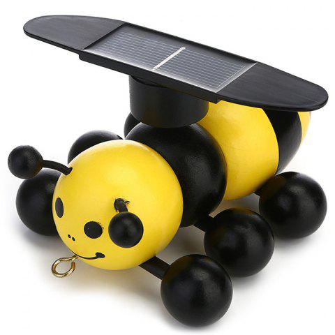 Educational Simulation Solar Bee Toy for Kids - YELLOW
