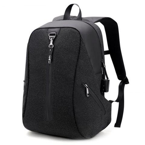 ARCTIC HUNTER B00162 Waterproof Polyester Backpack - BLACK