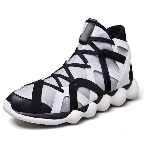 Fashion Outdoor Sports Running Sneakers for Male - multicolor A EU 42
