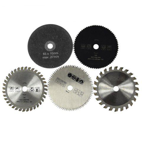 Durable Metallic Roof Tile Sheet Hard Alloy Saw Blades 5pcs - multicolor A