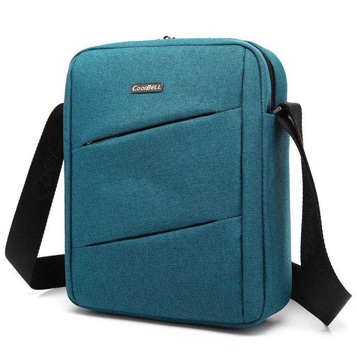 CoolBell 6202 Fashion and Leisure Crossbody Bag - PEACOCK BLUE