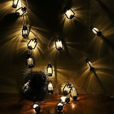 LED Lamp Appearance Light String for Party - BLACK