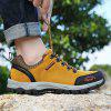Outdoor Trendy Anti-slip Crash Toe Hiking Shoes for Men - CINNAMON EU 40