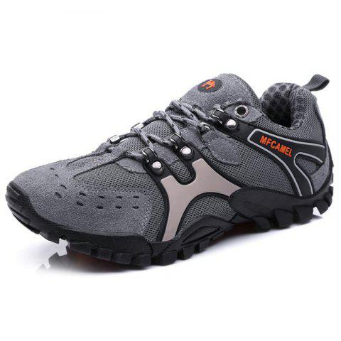 Men Casual Athletic Sports Running Shoes Sneakers - GRAY EU 39