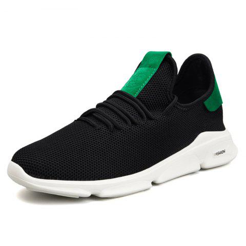 Fashion Durable Breathable Leisure Stylish Sneakers for Men - GREENISH BLUE EU 43