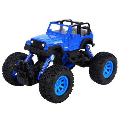 Simulation Automobile Model Shock Absorber Off-road Toy Car - BLUEBERRY BLUE