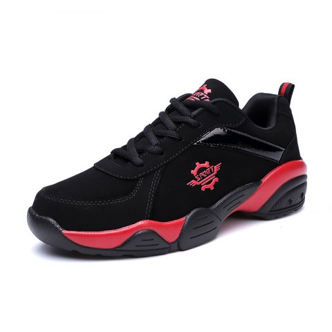 Outdoor Leisure Anti-slip Sneakers for Men - ROSSO RED EU 42