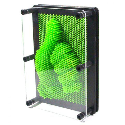 3D Model Clone DIY Square Toy - YELLOW GREEN