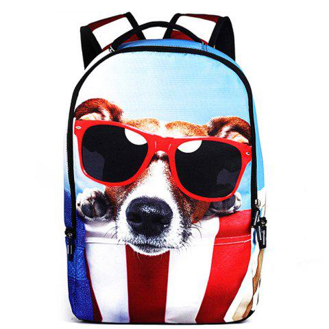 RUNNINGTIGER Outdoor Stylish Durable Printed Travel Backpack - multicolor D