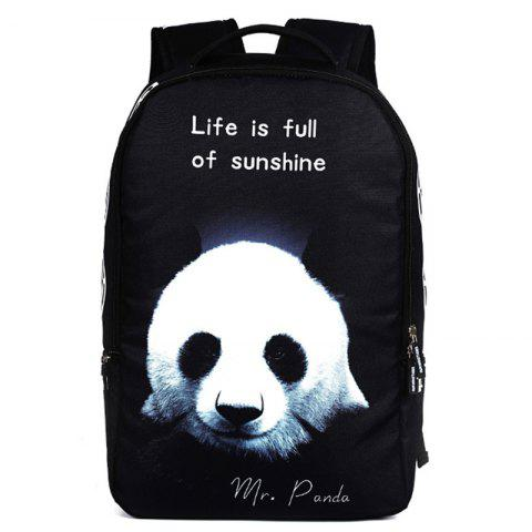 RUNNINGTIGER Outdoor Stylish Durable Printed Travel Backpack - multicolor F
