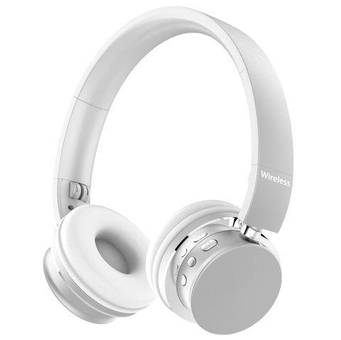 TH - M9 Business Wireless Bluetooth Headset Stereo Sound Headphone - SILVER