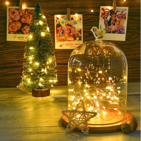 Utorch 5m 50-LED Decoration Infinity Color String Light with Battery Box for Festival - multicolor WARM WHITE / COLD WHITE