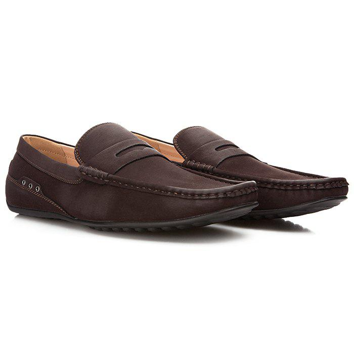 XPER Men Casual Shoes Loafers - TAUPE EU 43