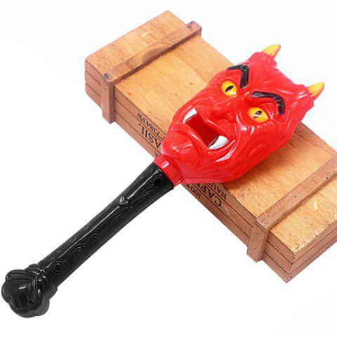 Halloween Glowing Magic Wand Children Toy Horror Props 1PC - multicolor SHARP-HORNED GHOST