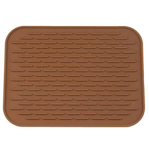 Silicone Heat Environmental Protection Food Mat - COFFEE
