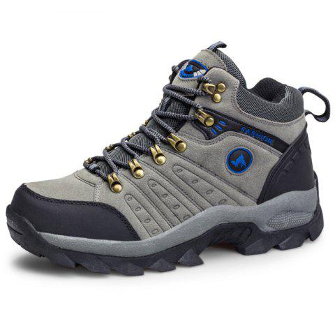 Stylish Outdoor Leisure Hiking Shoes - BATTLESHIP GRAY EU 40