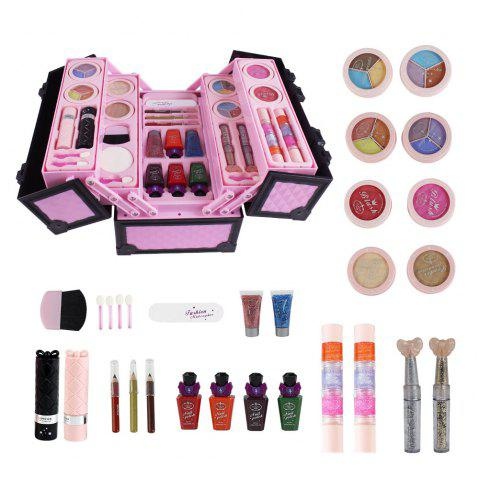 Creative Water-soluble Cosmetic Set Pretend Toy for Children - PINK