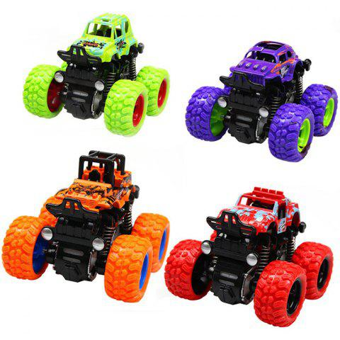 Kids Simulation Climbing Car Pull Back Vehicle Toy 1pc - multicolor A