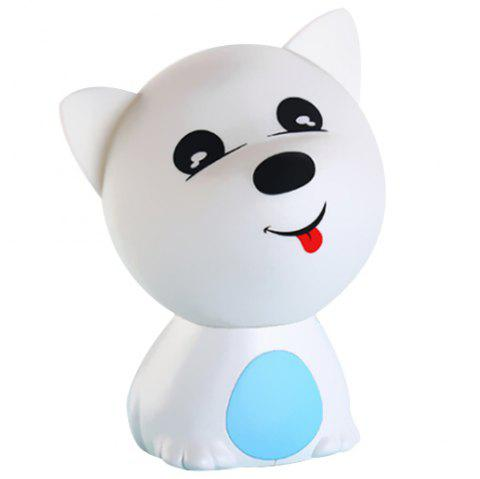 Cute Doggie Colorful Night Light - DAY SKY BLUE