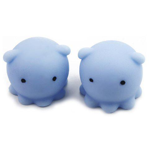 Popular Creative Cute Pet Squishy Toy Relieving Stress - DAY SKY BLUE OCTOPUS