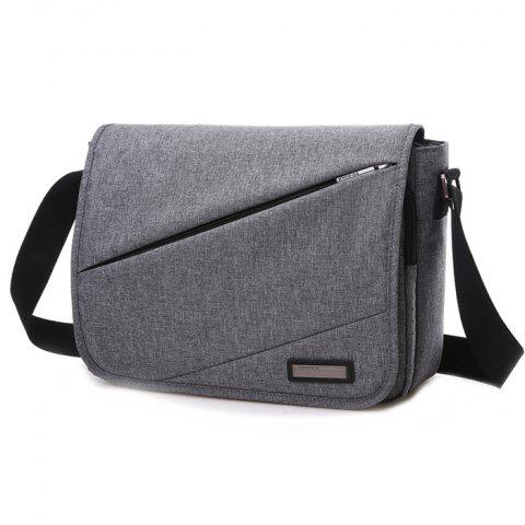 TUGUAN Casual Sports Crossbody Bag for Man - GRAY