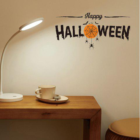 Creative Eco-friendly Spider Wall Sticker for Home Bar Shop Halloween Decoration - multicolor A