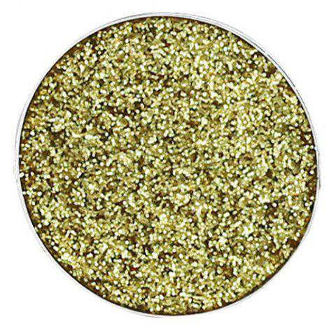 POPFEEL Monochrome Glitter Eye Shadow - SUN YELLOW