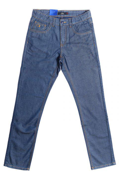 A LA MASTER Male Slim Jeans Pants - BLUE 29