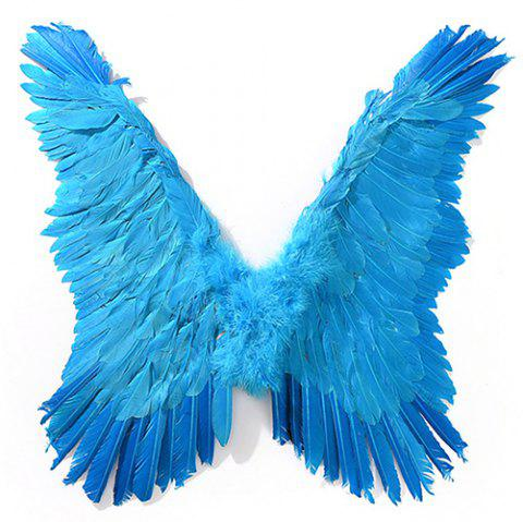 Decorate Wings for Halloween Party - DEEP SKY BLUE