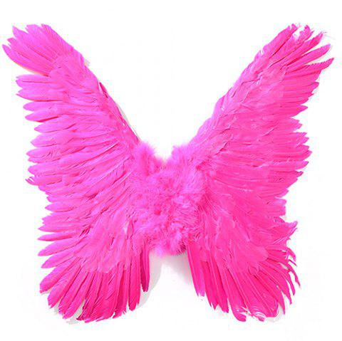 Decorate Wings for Halloween Party - NEON PINK
