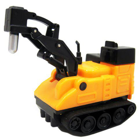 Creative Magic Inductive Truck Follow Drawn Line Car Toy 1pc - YELLOW TYPE D