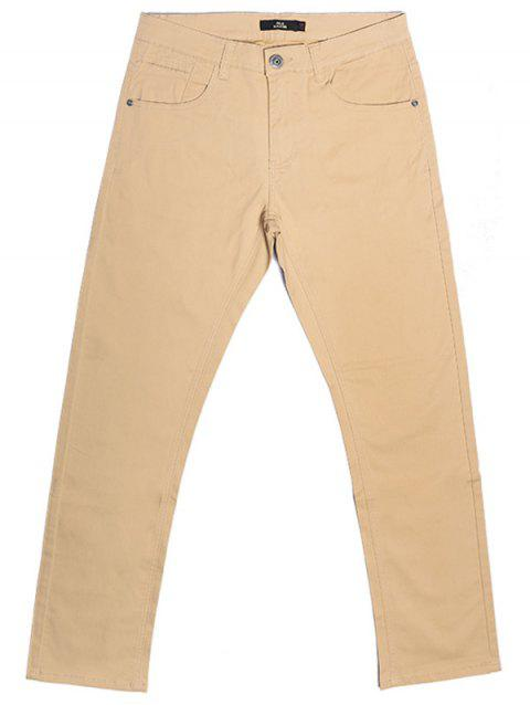 A LA MASTER Casual Slim Pants for Man - CORNSILK 34